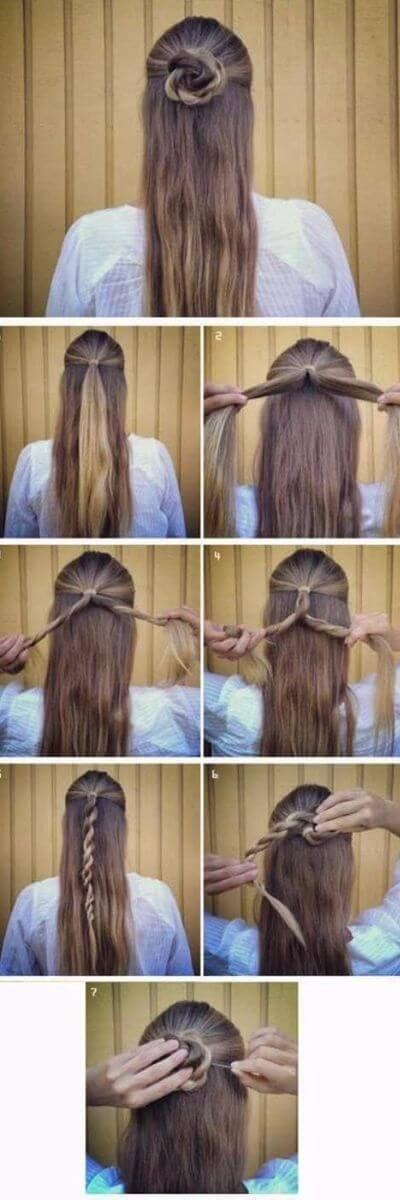 50 unglaublich einfache Frisuren für die Schule   – Frisuren