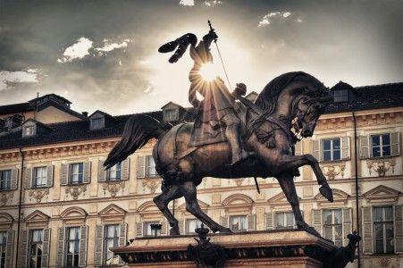 Turin : piazza S.Carlo