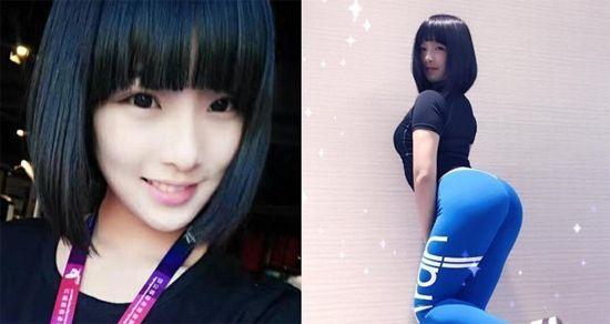Foto Hot! Gao Qian, Gadis Bokong Terindah