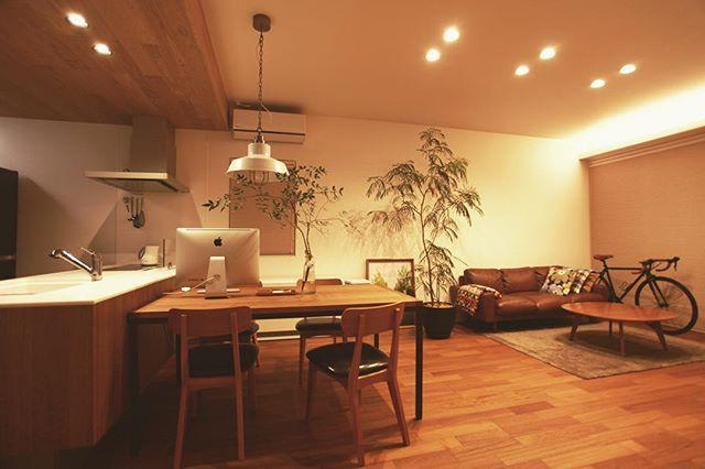 大好きなウニコ家具に囲まれて♪その中でもMOLNソファがお気に入り☺︎#unicoroom #ウニコルーム#ウニコ#rockbikes #マイホーム#インテリア#新築#建築#住宅