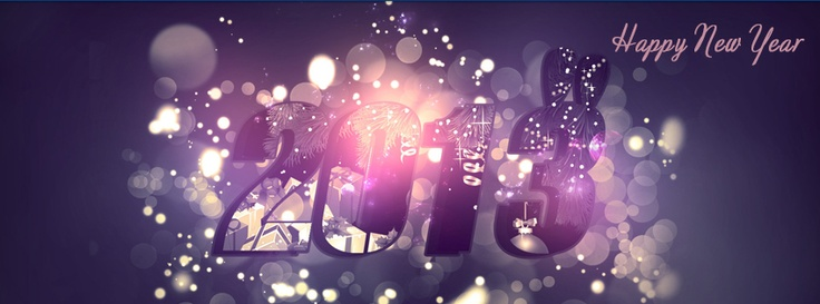NEW YEAR 2013 Facebook timeline cover | for all our fans