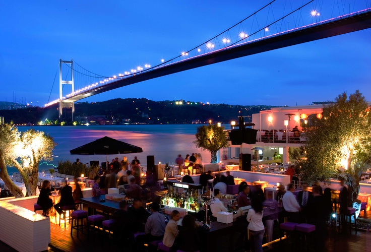 Reina Night Club in Bosphorus.