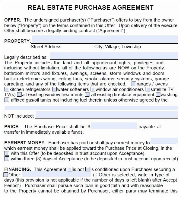 Land Purchase Agreement Form Pdf Luxury Real Estate Purchase Agreement 7 Free Pdf Download Real Estate Contract Purchase Agreement Contract Template