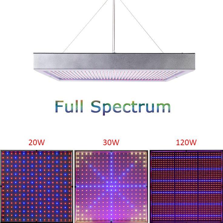Spectre complet 20 W 30 W 120 W 1365 pcs SMD2835 Élèvent La Lumière 660nm + 460nm Élèvent La Led Pour Hydroponique éclairages et Système de Culture Hydroponique