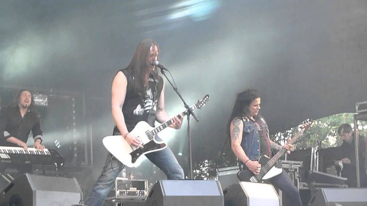Poisonblack - Rush live @ Nummirock, Kauhajoki 21.6.2014 (HD)