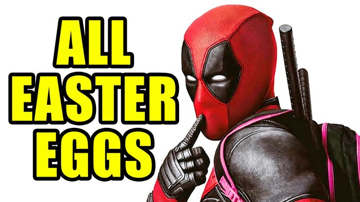 Over a hundred Deadpool easter eggs, hidden references, fourth-wall breaks... (SPOILERS, OBVIOUSLY)