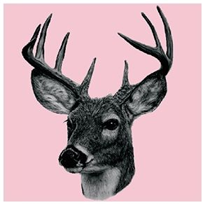 Deer by dims - Full Coverage tile sticker. Price 7,1 € Pris 49 dkk.