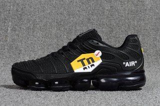75486a49387a Mens Nike Air Max Plus Tn Ultra Triple Black Red Yellow White 898015 100  Running Shoes