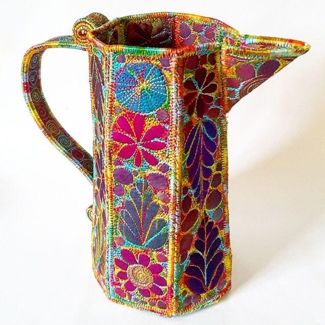 Stitched Silk Jug £80.00
