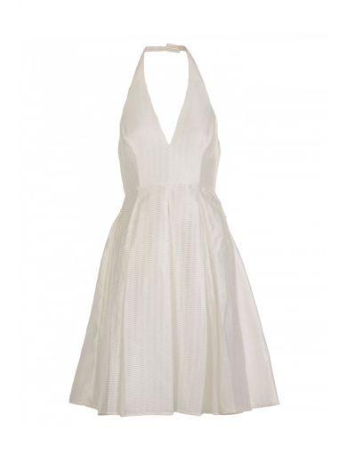 HALSTON HERITAGE Halston Heritage Synthetic Fabric Dress. #halstonheritage #cloth #dresses