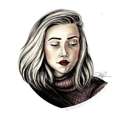 Noora // Skam art (this is amazing)