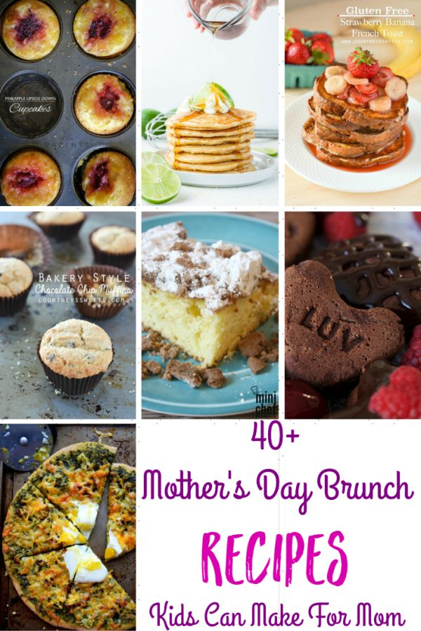 Mothers Day Brunch Recipes That Kids Can Make For Mom Baby Shower Food