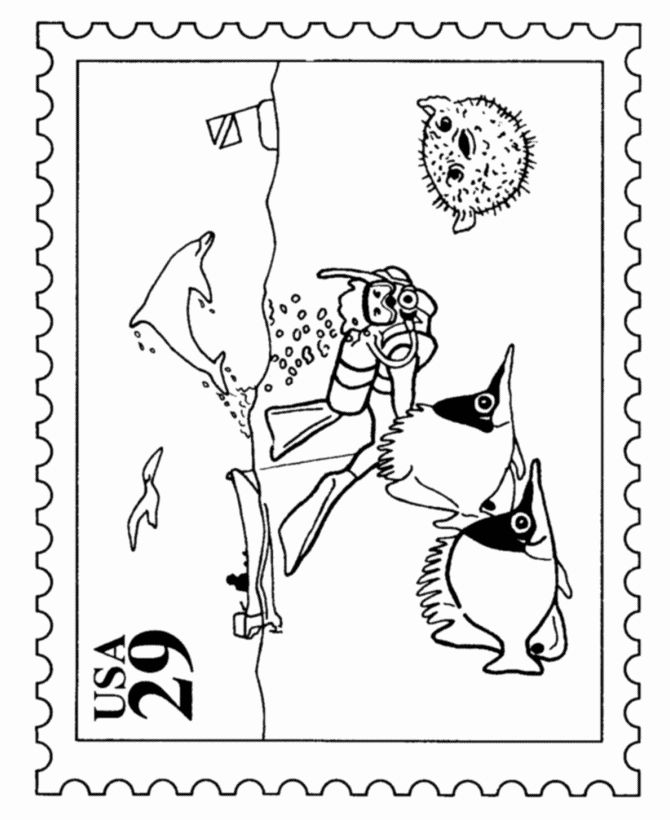 32 Scuba Diving Coloring Page In 2020 Coloring Pages Skull