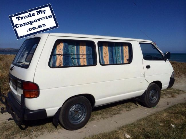 New Zealand Shooting Video Leak Image: Buy Second Hand Toyota Townace Campervan In Auckland New