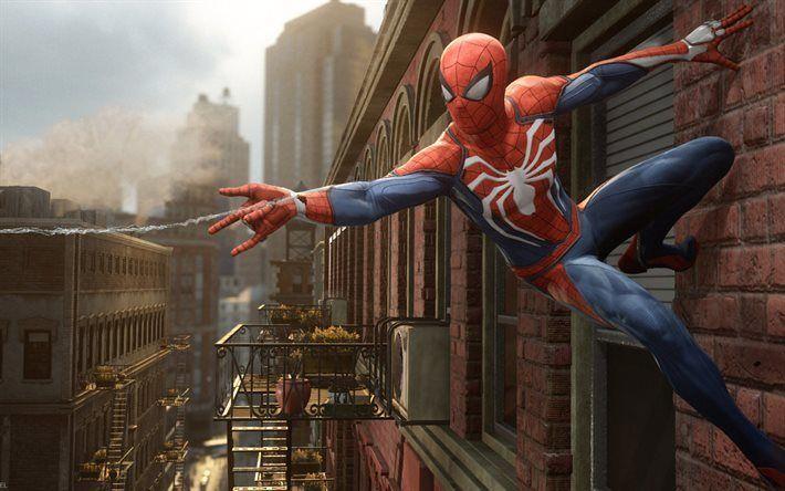 Spiderman, 2016, PS4, superhero