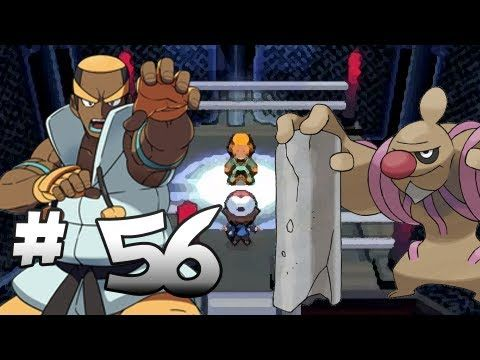 Let's Play Pokemon: Black - Part 56 - Elite Four Marshal (Second Run)