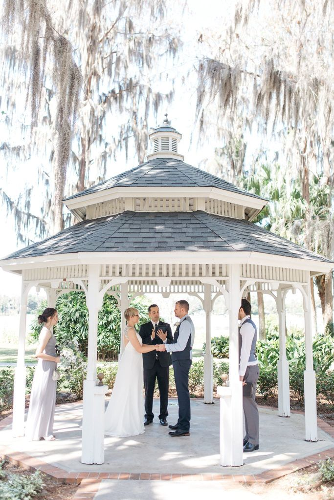 new england wedding venues on budget%0A Cypress Grove Estate House  Orlando Wedding  Lakeside Wedding  Bridal Gown   Outdoor Wedding