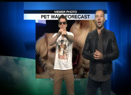 Jai and Miles try to do weather... Funny stuff! Click on picture to watch!