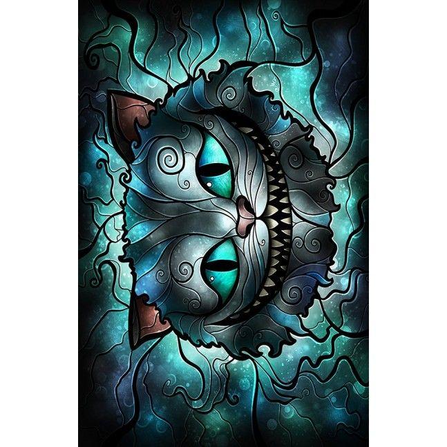 Mad cheshire cat l 39 artiste mandie manzano pinterest chats chat du cheshire et maison - Deguisement alice au pays des merveilles fait maison ...