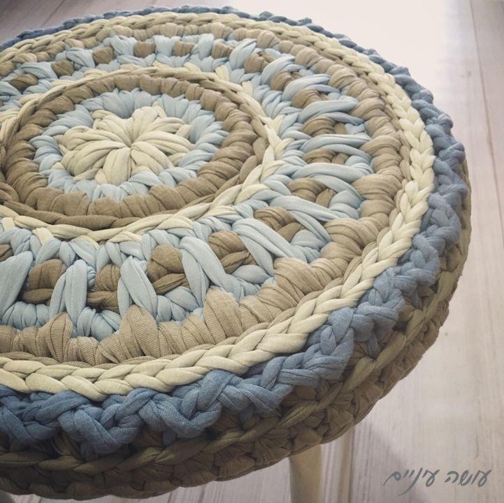 ???? ?????? - ????? ?????? ???? ????? ????? || OsaEinaim - Crochet T-shirt. Stool CoversCrochet ... & Best 25+ Stool cover crochet ideas on Pinterest | Stool covers ... islam-shia.org