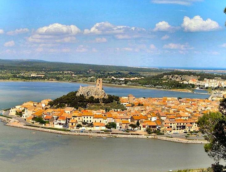 Gruissan dans l'Aude en france