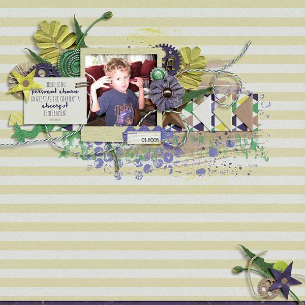 Cheerful Temperament | Ponytails Designs: Boyish Charm; Designs: Simplicity Vol. 1; Wendy Tunison Designs: Me and My Shadow