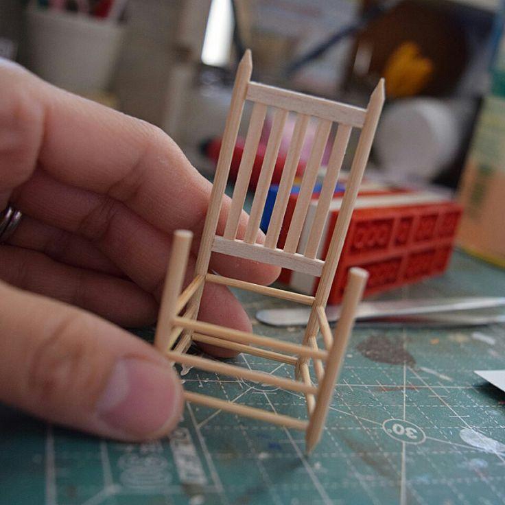 4 miniatur puppenstube m bel haus. Black Bedroom Furniture Sets. Home Design Ideas