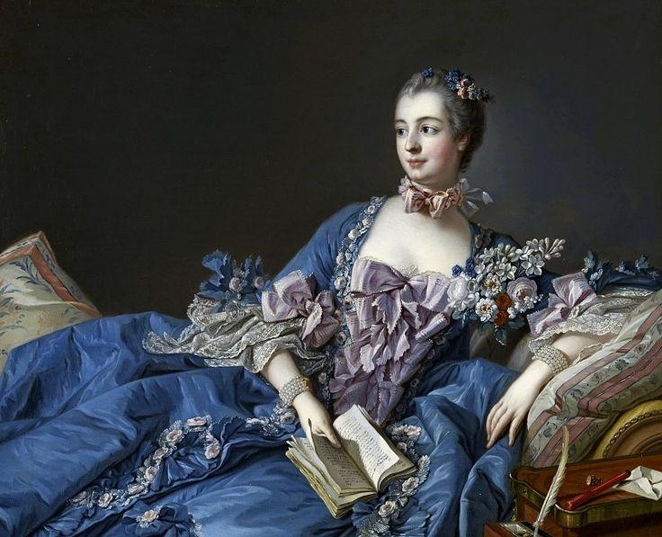 Портрет мадам де Помпадур. Франсуа Буше