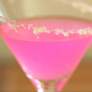 "Bubblegum Martinin -- I think I might be adding this to my ""once in a bluemoon drink"" list :)"