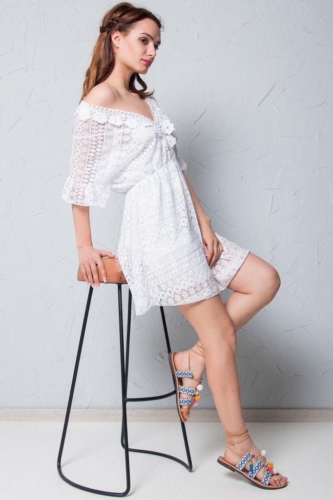 Lace Love White Dress