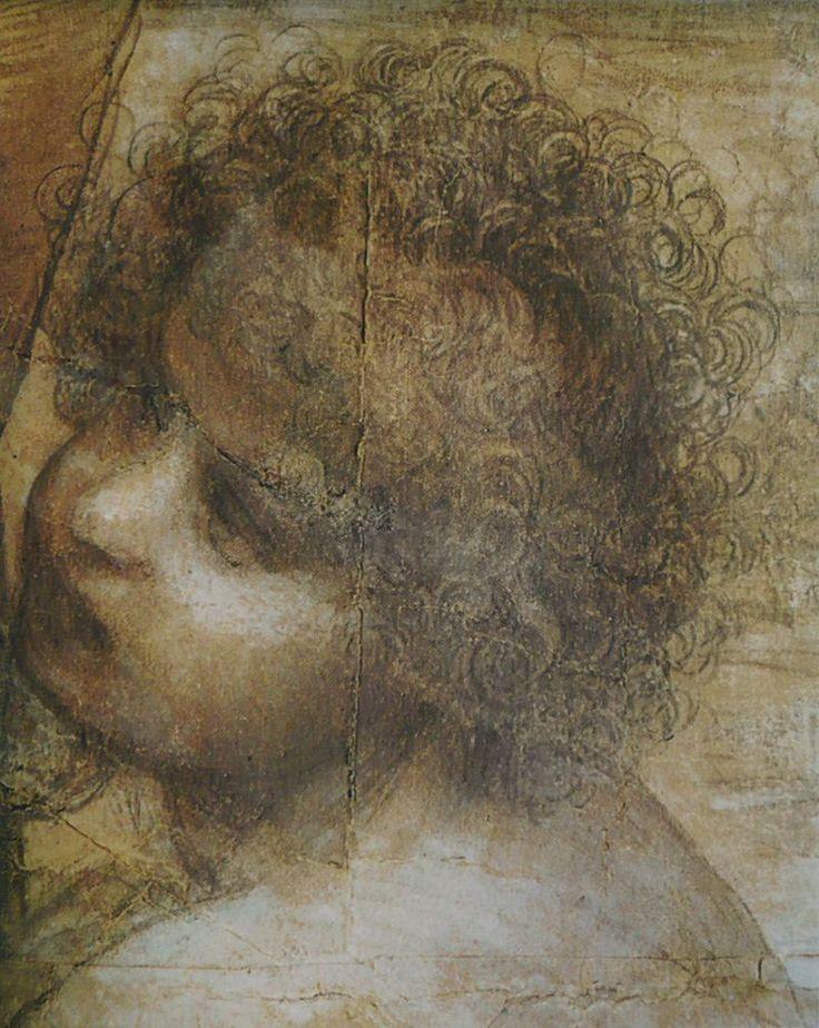 Léonard de Vinci - Vierge, Enfant Jésus, ste Anne & st Jean-Baptiste 2 - Cartone di sant'Anna - Cartone di sant'Anna (Sant'Anna, la Madonna, il Bambino e san Giovannino) è un disegno a gessetto nero, biacca e sfumino su carta (141,5x104,6cm) di Leonardo da Vinci, databile al 1501-1505 circa e conservato nella National Gallery di Londra