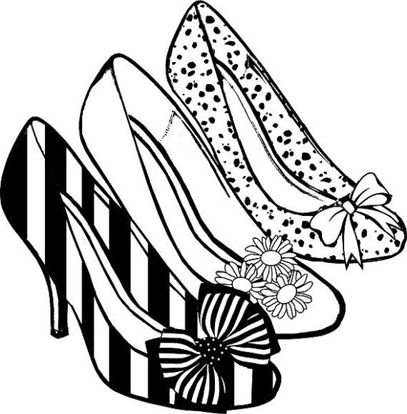 barbie high heels coloring pages - photo#4