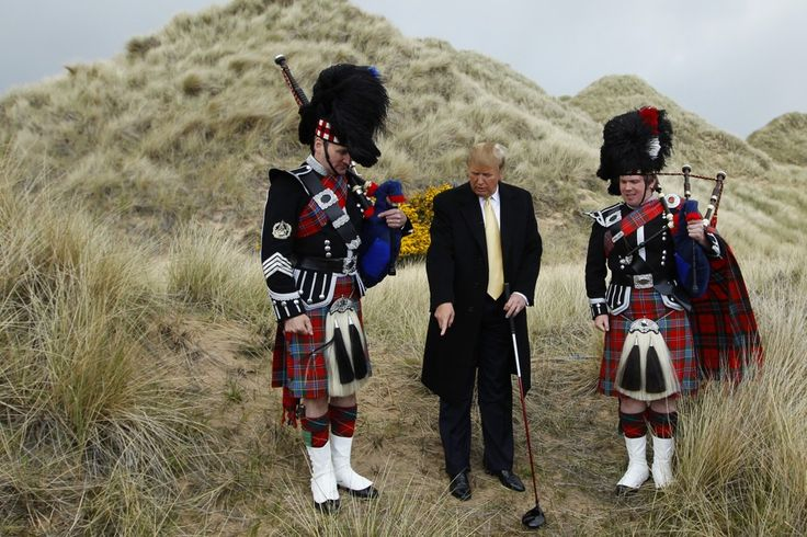 Wind Farms and Broken Promises: Donald Trump's Tortured History With Scotland - The Atlantic