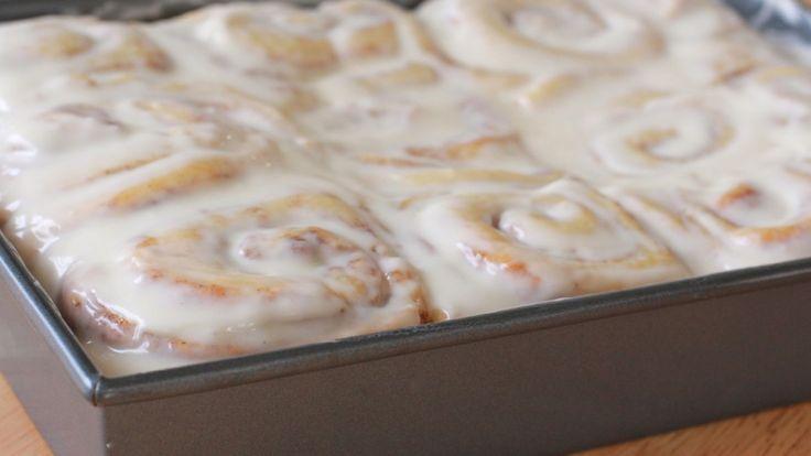 Homemade Cinnamon Rolls Recipe | Divas Can Cook