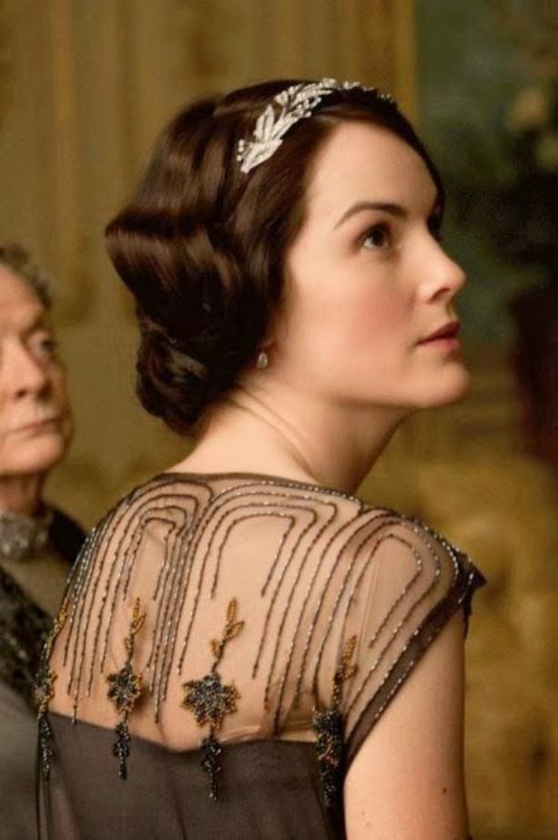 ciao! newport beach: up close & personal: the clothes & jewels of Downton Abbey