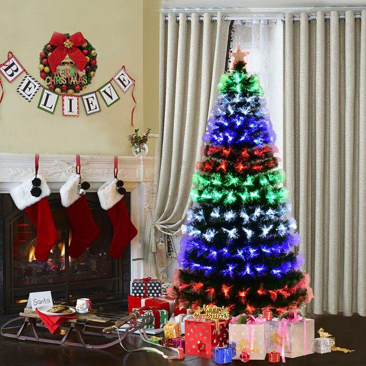 25 unique fiber optic christmas trees ideas on pinterest artificial christmas tree sale 9ft. Black Bedroom Furniture Sets. Home Design Ideas