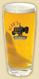 Whenever we are in Ottawa we are drinking Lug Tread from Beau's Brewery.