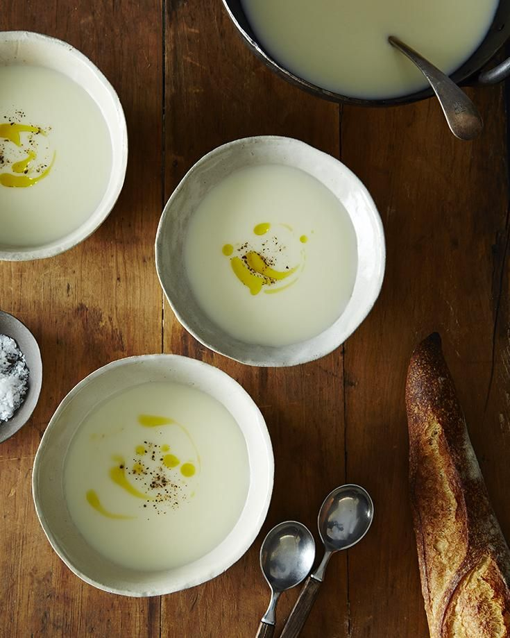 Paul Bertolli's Cauliflower Soup | Recipe | Sweet, Purple and Smooth