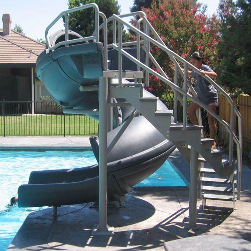 Best 25+ Pool slides i...