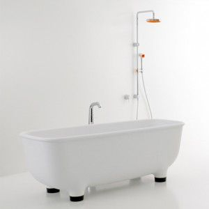 Bathroom collection by Marc Newson  for Caroma by De Zeen
