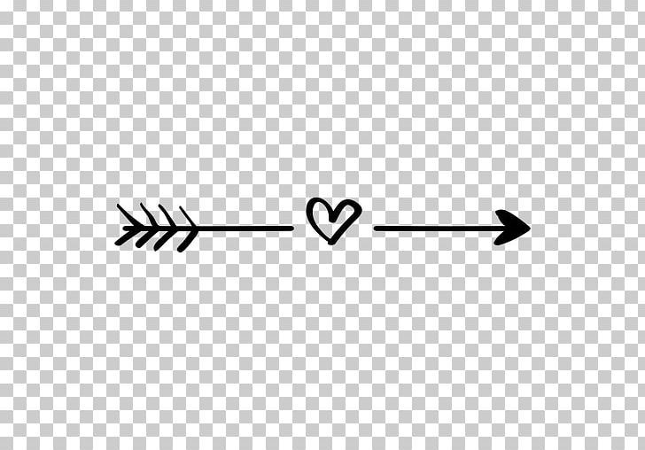 Arrow Heart Computer Icons Png Angle Area Arrow Black Black And White Computer Icon Heart With Arrow Png