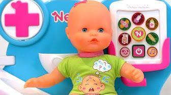 Bañamos a nuestro Nenuco!! Little Baby Doll Bathtime Set. Bebé de juguete. - YouTube
