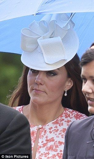 Kate recycled the Jane Corbett hat she wore to the Order of the Garter.: