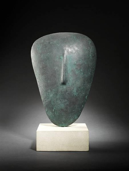 William Turnbull, Mask, 1984