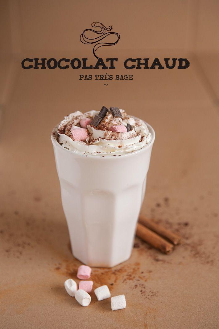 Un chocolat chaud pas sage du tout