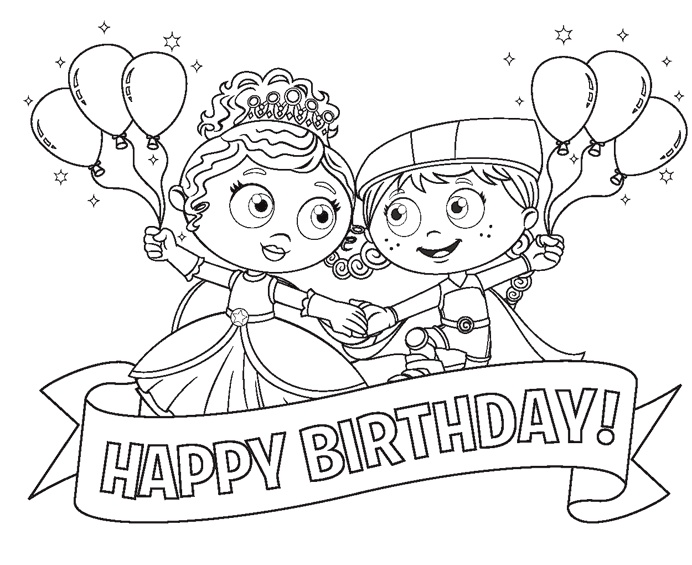 sw coloring page super why