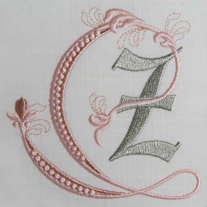Fleur de Lis Alphabet- Z: Sonia Showalter: