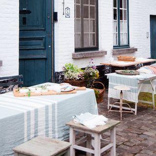 Leinen Tischwäsche The Tennessee Stripe - Libeco Home