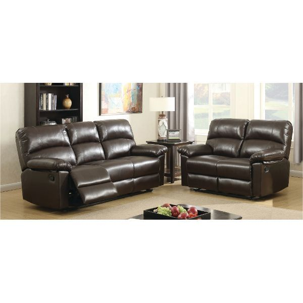 Sofa Covers Madison Modern Bonded Leather Small Space Sectional Reclining Sofa with Chaise Black