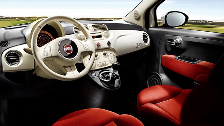 New Fiat 500 Interior